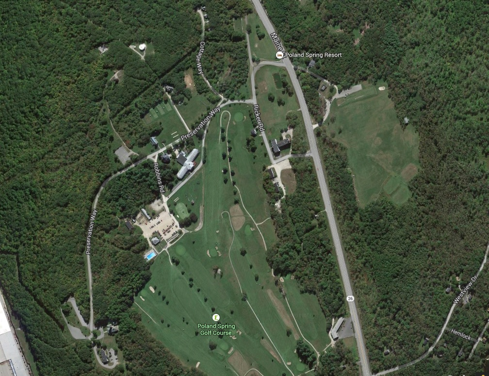 Poland Springs Maine Map.Lodging